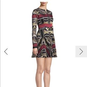 Alexis Nalory Embroidered Long Sleeve Dress